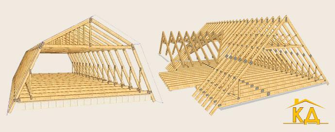 Построить крышу своими руками 10