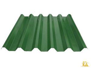 Профнастил Н-60 зеленый