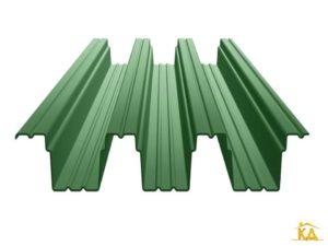 Профнастил Н-114 зеленый