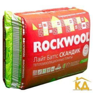 Утеплитель RockWool Лайт Баттс Скандик