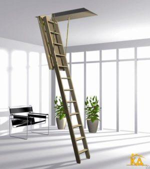 Лестница Esca ISO-RC 120х60