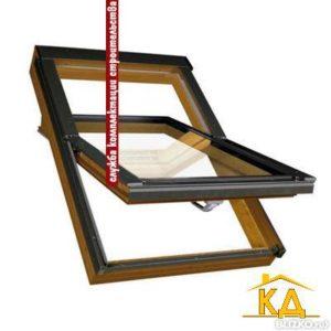 Мансардное окно R85 H WD 74x118