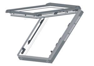 Окно в ламинации R45 K G WD 74x98