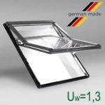 Окно в ламинации R75 K G WD 94x118